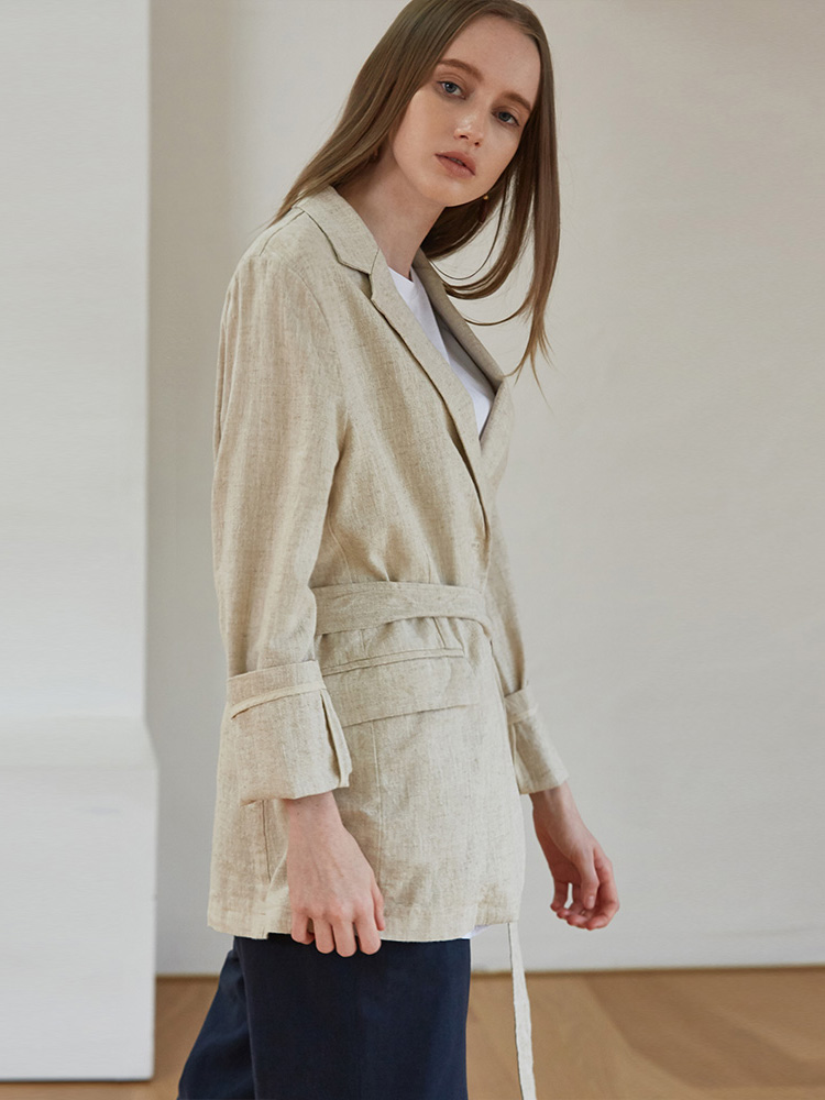 IVY LILEN BELT JACKET