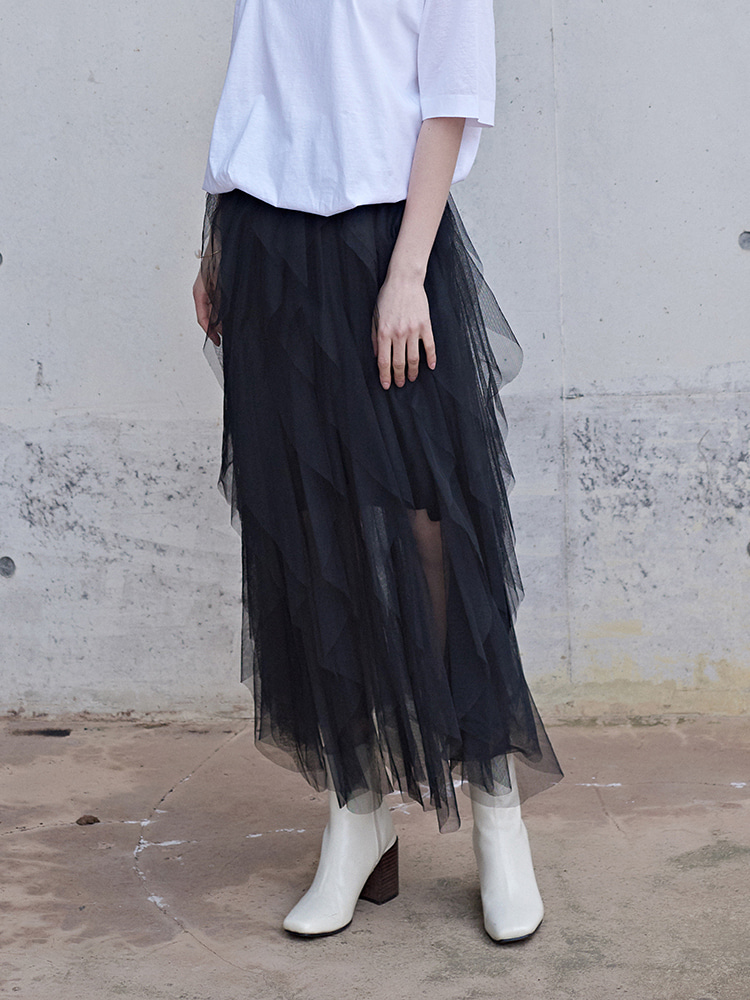HAILEY PIECE LAYERED SKIRT