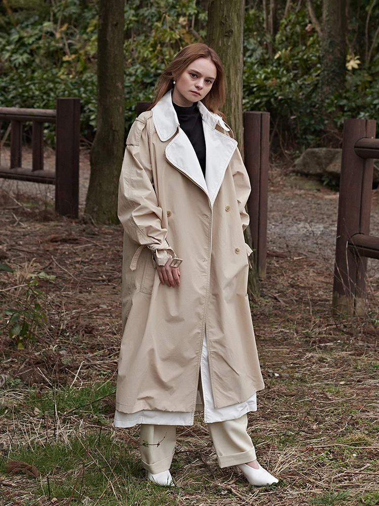 LEAH ARRANGE TRENCH COAT